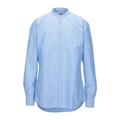 アリーニ AGLINI シャツ スカイブルー 43 コットン 50% / ポリエステル 50% シャツ