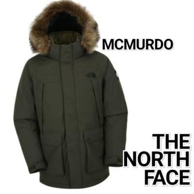 THE NORTH FACE ノースフェイス マクマード アクト ダウンコート 緑 メンズ NJ1DJ53C