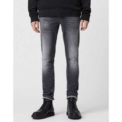 オールセインツ メンズ デニムパンツ ボトムス AllSaints cigarette jeans in faded black