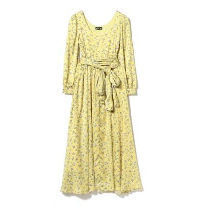 (Ray BEAMS/レイビームス)sister jane / Floral Midi Dress/レディース YELLOW