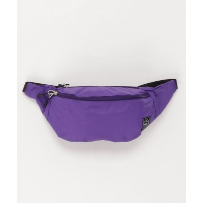 FUZZBOXX / Packable Fanny Pack OR - Ripstop Nylon MEN バッグ > ショルダーバッグ