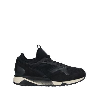 PAURA x DIADORA スニーカー&テニスシューズ(ローカット) ブラック 6 革 / 紡績繊維 スニーカー&テニスシューズ(ローカット)