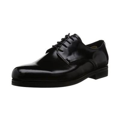 [クリスチャンカラノ] ビジネスシューズ SD6001 メンズ (ブラック 26.0 cm)