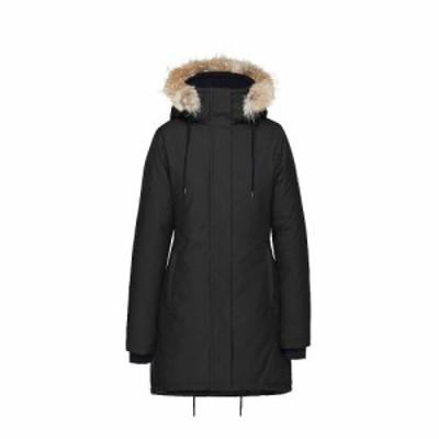 クォーツコー Quartz Co レディース ダウン・中綿ジャケット アウター genia jacket Black