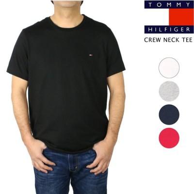 トミー ヒルフィガー Tシャツ メンズ 半袖 クルーネック Core Flag Tee コア フラッグ 無地 トップス カットソー 09T3139
