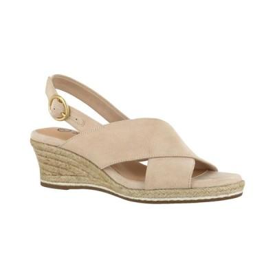 ベラヴィータ Bella Vita レディース エスパドリーユ シューズ・靴 Nadette II Espadrille Sandals Cream Suede