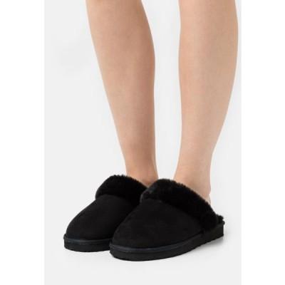 レディース 靴 シューズ Slippers - black