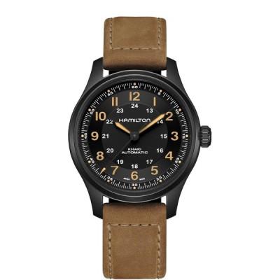 ハミルトン HAMILTON H70665533 カーキ フィールド チタニウム オート 42mm 正規品 腕時計
