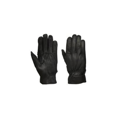 GL704A レザーグローブ BK リード工業 シンプル ゴートスキン グローブ 革 手袋 レザー グローブ 山羊 丈夫 ヤギ革