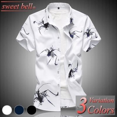 シャツ メンズ 柄 カジュアルシャツ 半袖 夏 大きいサイズ ボタンダウン オックスフォード ネルシャツ デニムシャツ ワーク ファティーグ シャンブレー アメカジ
