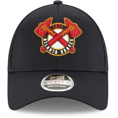 ニューエラ 帽子 アクセサリー メンズ New Era Men's Atlanta Braves 9FORTY '20 Clubhouse Cap Navy