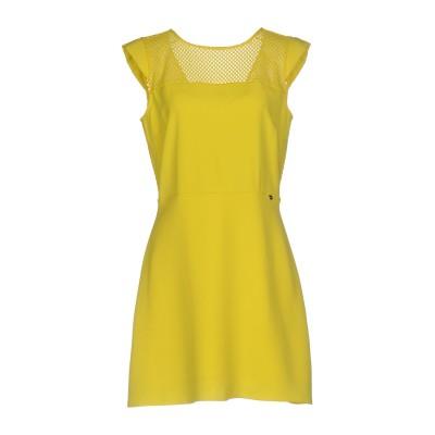 リュー ジョー LIU •JO ミニワンピース&ドレス イエロー 46 ポリエステル 100% / ナイロン / ポリウレタン ミニワンピース&ドレス