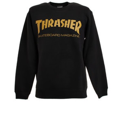 スラッシャー(THRASHER)MAG LOGO トレーナー TH8401BKMU