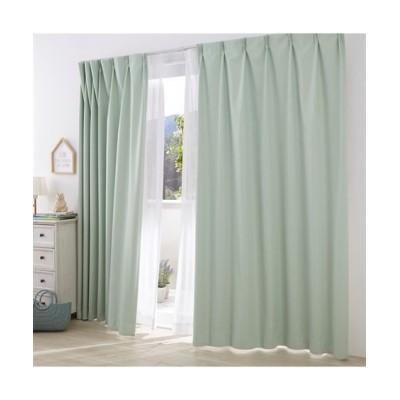 【送料無料!】ドビー織遮熱。防音。1級遮光カーテン&遮熱。24時間見えにくい。UVカットレースセット カーテン&レースセット, Curtains, sheer curtains, net curtains(ニッセン、nissen)