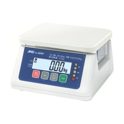 A&D A&D 取引・証明用(検定済品)防塵・防水デジタルはかり SJ30KWP 1