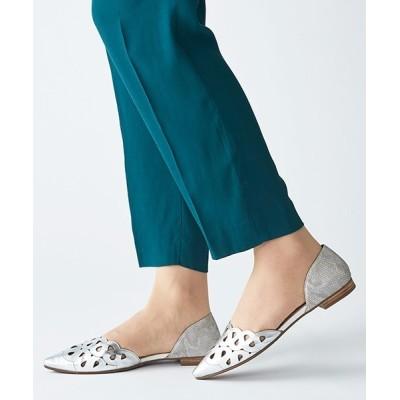 ANDEX shoes product / coca / コカ レーザーカット  ポインテッドトゥ セパレートパンプス 120001 WOMEN シューズ > パンプス