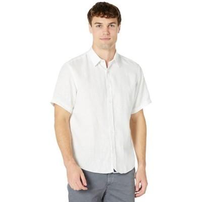 アンタックイット メンズ シャツ トップス Wrinkle-Resistant Short-Sleeve Linen Calvano Shirt