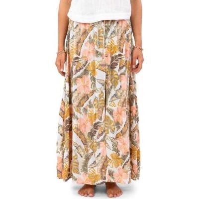 リップカール RIP CURL レディース ロング・マキシ丈スカート スカート Tropic Coast Maxi Skirt White