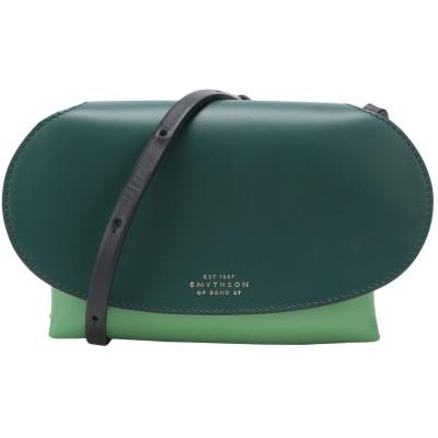 スマイソン SMYTHSON メッセンジャーバッグ グリーン 牛革(カーフ) 100% メッセンジャーバッグ
