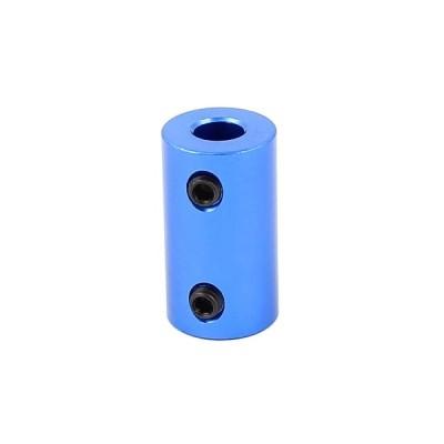 uxcell カップリングジョイント ネジ付け L形のバー付け アルミニウム合金 6mm-6mm ブルー