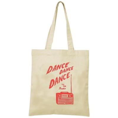 DANCE DANCE DANCE トートバッグ キャンバス 12oz 綿100% ナチュラル色 音楽 バンド シネマ 人物 B4サイズ