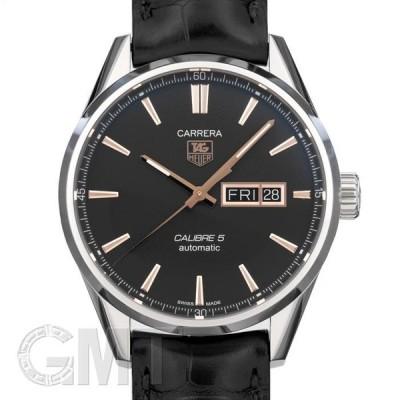 タグ・ホイヤー カレラ Cal.5 デイデイト ブラック WAR201C.FC6266 TAG HEUER 新品 メンズ  腕時計  送料無料  年中無休