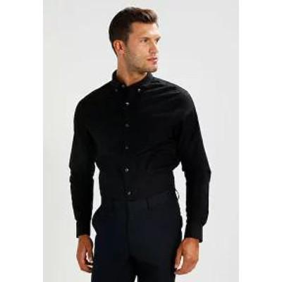 Zalando Essentials メンズシャツ Zalando Essentials Mens shirt - black?