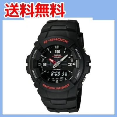 [カシオ] 腕時計 ジーショック G-100-1BMJF ブラック