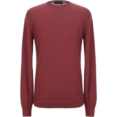 ファブリツィオ デル カルロ FABRIZIO DEL CARLO メンズ ニット・セーター トップス sweater Rust