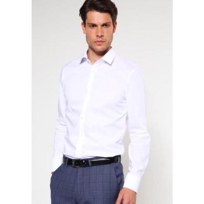 オリンプ メンズ ファッション OLYMP NO.6 SUPER SLIM FIT - Formal shirt - weiss
