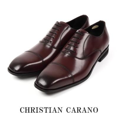 CHRISTIAN CARANO クリスチャンカラノ TK-853 ビジネスシューズ - 本革 ストレートチップ スワールトゥ 内羽根 5E 撥水 キングサイズ 大きいサイズ