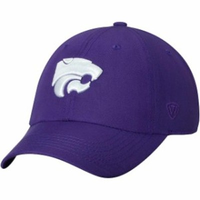 Top of the World トップ オブ ザ ワールド スポーツ用品  Top of the World Kansas State Wildcats Purple Primary Logo Staple Adjusta