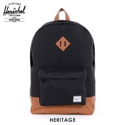 ハーシェル バックパック 正規販売店 Herschel Supply ハーシェルサプライ リュックサック バッグ 10007-00001-OS Heritage Black バック