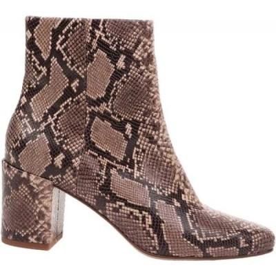 スプレンディッド Splendid レディース ブーツ ショートブーツ シューズ・靴 Heather Heeled Ankle Boot Natural Snake