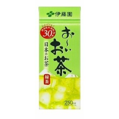 【送料無料】伊藤園 お~いお茶 緑茶 250ml 紙パック 1ケース24本×2ケース