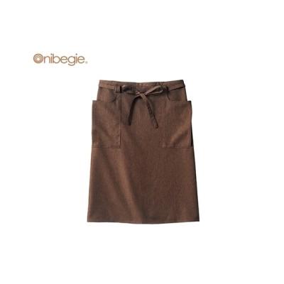Onibegie OV5003 サロンエプロン(男女兼用) 【業務用】コック服