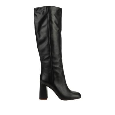 BIANCA DI ブーツ ブラック 41 牛革(カーフ) ブーツ