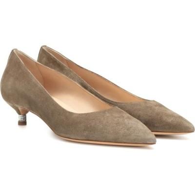 ガブリエラ ハースト Gabriela Hearst レディース パンプス シューズ・靴 sebastian suede pumps Grey