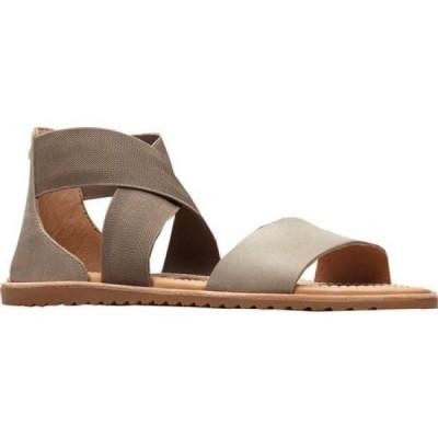 ソレル Sorel レディース サンダル・ミュール シューズ・靴 Ella Cross Strap Sandal Sage Nubuck