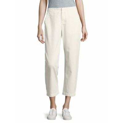 レオ&セージ レディース パンツ Solid Cropped Cotton Pants