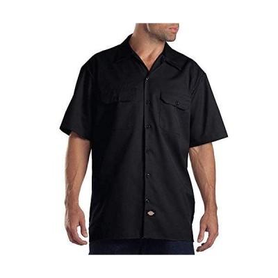 Dickies(ディッキーズ) 半袖ワークシャツ 1574 ブラック(BK) L