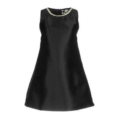 NO SECRETS ミニワンピース&ドレス ブラック 48 100% ポリエステル ミニワンピース&ドレス