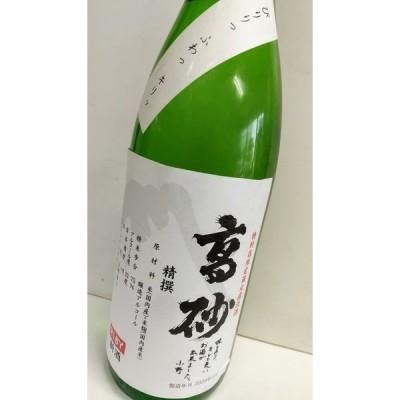 高砂 精撰 無濾過生原酒 令和2年新酒内見会(1) 1800ml 静岡富士宮 富士高砂酒造
