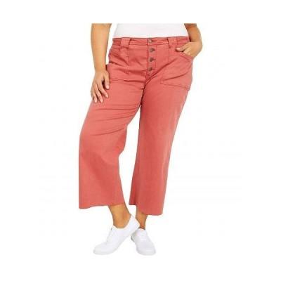 NYDJ Plus Size エヌワイディージェー レディース 女性用 ファッション ジーンズ デニム Plus Size Teresa Wide Leg Ankle Jeans in Auburn - Auburn