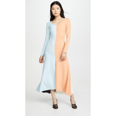 アウェイク モード A.W.A.K.E. MODE レディース ワンピース マキシ丈 ワンピース・ドレス Fluted Maxi Dress Multi