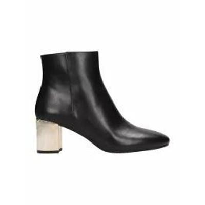 Michael Kors レディースシューズ Michael Kors Black Leather Paloma Flex Ankle Boot b