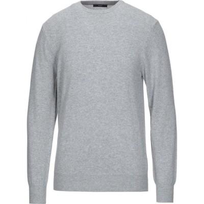 ダンディ DANDI メンズ ニット・セーター トップス cashmere blend Light grey