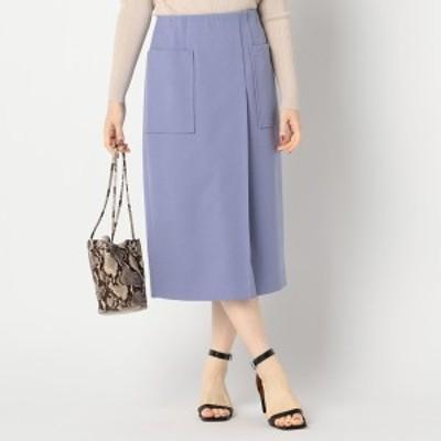 ノーリーズ レディース(NOLLEY'S)/ウールライクポケット付きスカート