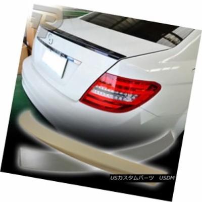 メルセデスベンツW204セダンOEルーフウィング& D工場型トランク・スポイラー・ブーツ?