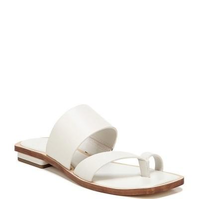 フランコサルト レディース サンダル シューズ Sarto by Franco Sarto Ediana Leather Toe Ring Square Toe Sandals Putty